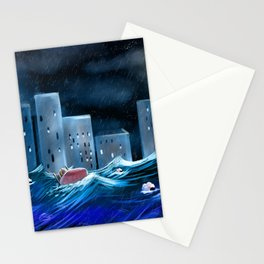 Can't Sleep Illustration Stationery Cards