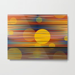 Colors Of A Sunset Metal Print