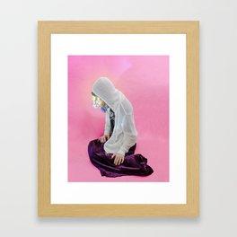 fuk u chlofell Framed Art Print
