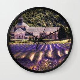 Abbaye Notre-Dame de Senanque Wall Clock