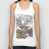 fawn Tank Tops featuring Fawn by Pfirsichfuchs