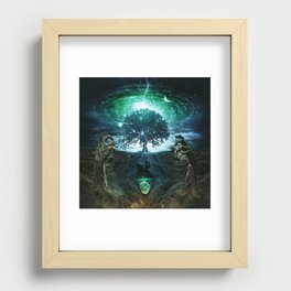 Tree of Life (Reprise) Recessed Framed Print