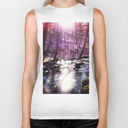 twilight woods Biker Tank