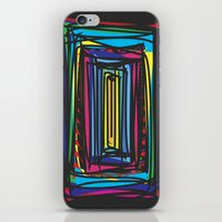 frames iPhone & iPod Skins featuring Frames by Niko Psitos