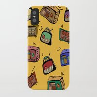 radio iPhone & iPod Cases featuring Radio Show by andy_panda_