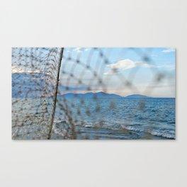 An Bang Netting Canvas Print