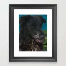 Barry Dog Framed Art Print