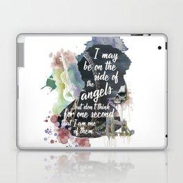 Sherlock Side of the Angels Laptop & iPad Skin