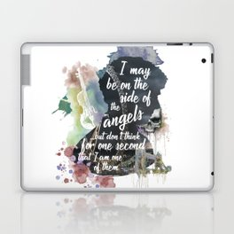 Sherlock Side of the Angels Laptop & iPad Skin
