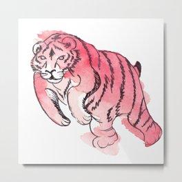 float tiger float Metal Print