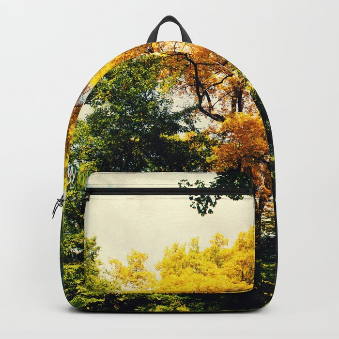 fall in Central Park Backpack
