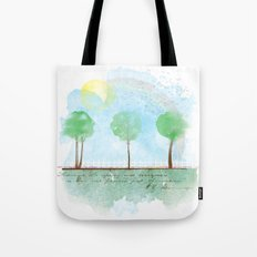 Always it's spring Tote Bag