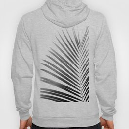 Palm Leaf | Black and White Hoody