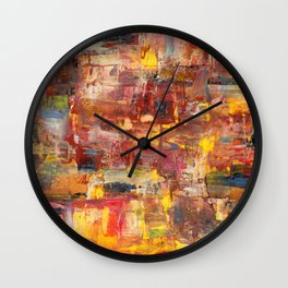 Medieval Village Wall Clock