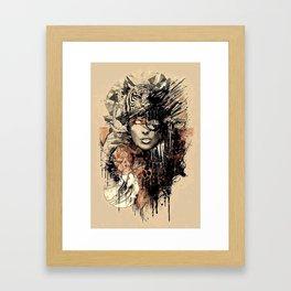 ANIMAL x MEN Framed Art Print