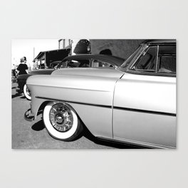 All in a row Canvas Print