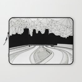 Dreaming the downtown Laptop Sleeve