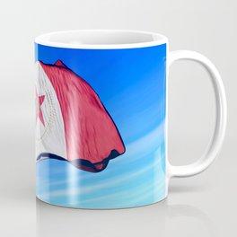 Birmingham, Alabama (USA), flag waving on the wind Coffee Mug
