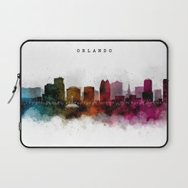 Orlando Watercolor Skyline Laptop Sleeve