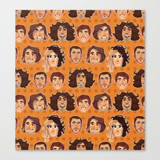 Game Grumps Pattern New Canvas Print