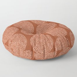Beech in Rust Floor Pillow