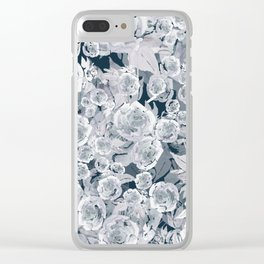 Bed of Roses 02 Clear iPhone Case