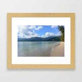 Oahu dreams Framed Art Print