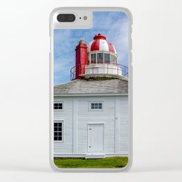 Historic Cape Spear Clear iPhone Case