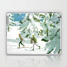 Cross Country Skiing Laptop & iPad Skin