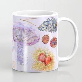 Winter Wood Blewits - Lilac Coffee Mug