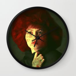 The red hat Wall Clock