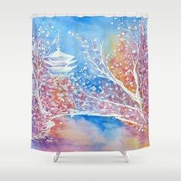Senso-ji Shower Curtain