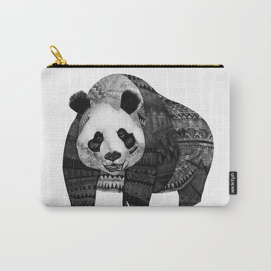 """""""Native Youth Panda""""  Carry-All Pouch"""