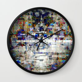 ...seeping into spaces/carving out those crevices. Wall Clock