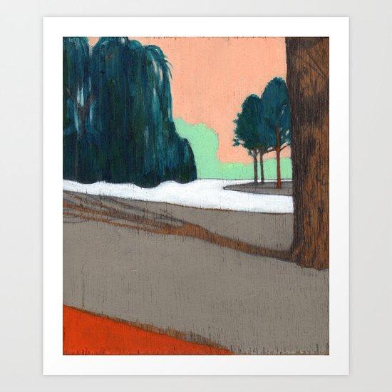 Oosterpark Art Print