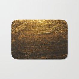 gold vintage Bath Mat