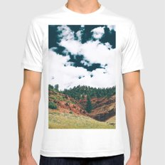 Colorado Valley Mens Fitted Tee MEDIUM White