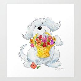 Noodles  Art Print