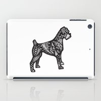 boxer iPad Cases featuring Boxer by creative.court
