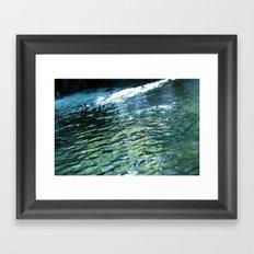 like a rivulet 02 Framed Art Print