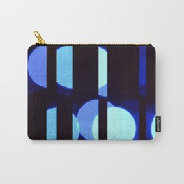 lights fractured (blue) Carry-All Pouch