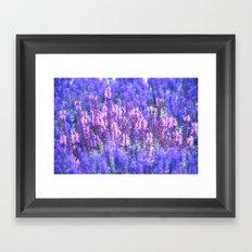 Pink Spot Framed Art Print