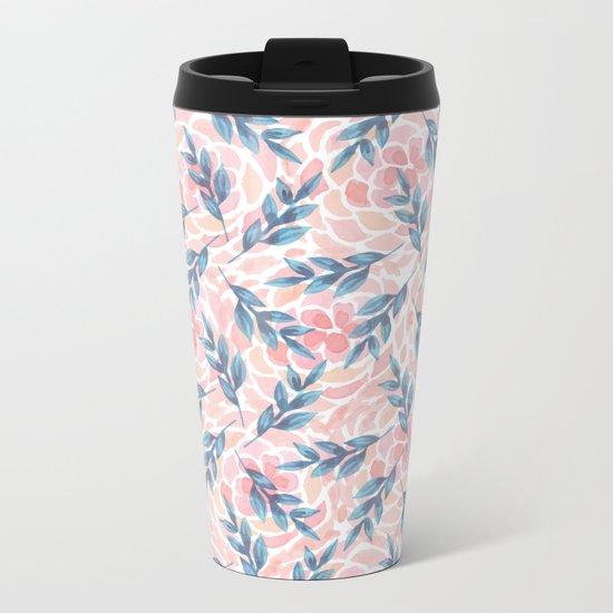 pattern 55 Metal Travel Mug