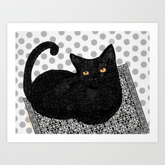 Artie CatDoodle Kunstdrucke