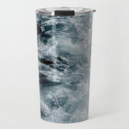 rushing ocean Travel Mug