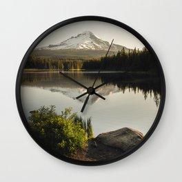 Trillium Mornings Wall Clock