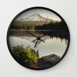 Trillium Mornings Wall Clock
