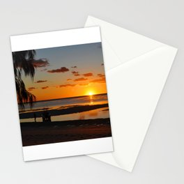 Australian Sanset Stationery Cards
