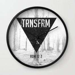 TRNSFRM Wall Clock