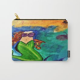 Headless Mermaid Carry-All Pouch
